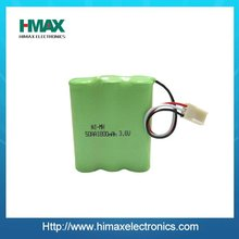 cordless phone 3.6V 1500mAh nimh rechargeable battery for huawei