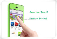 for iPhone Color frame screen guard / easy sticker /tpu Anti-shock