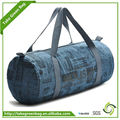 Customized high quality canvas sky travel luggage bag