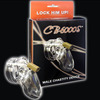 CB6000s Sex Toy Cock Cages Male Chastity belt Penis Lock size small include 5 size Penis Ring