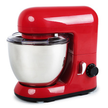4L Small Portable Kitchen Home Use Stand Mixer Dough Mixer 800W