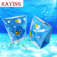 Wholesale Raying 2016 Hot Design Adult PVC Inflatable swimming ring 2pc set