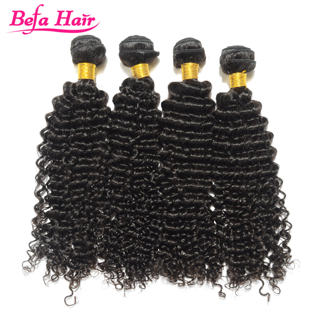 Belle hot top quality tight curl weaving human hair