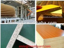 melamine coated partial board