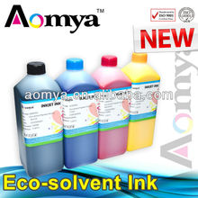 Aomya eco solvent pigment ink solvent ink for Epson Dx5/6/7 /Roland/Mimaki/Mutoh piezo electronic printhead