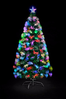 High Quality Fiber Optic Artificial PVC Christmas Tree, Color Changing Tree