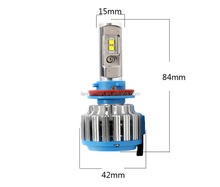 wholesale Newest auto car lights 9005 9006 H11 H7 H4 led headlight bulb, led automotive lighting, lamps for cars headlight LED