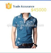 Mens Cotton Shirt Latest Design ,T-Shirts Printing Short Sleeve , New Design Polo Shirt