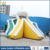High quality giant water slide inflatable outdoor slide with swimming pool for sale