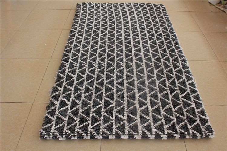 machine washable chenille loop bathmat