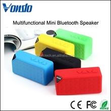 X3 Jambox Style TF USB FM Wireless Portable Music Sound Box Subwoofer Loudspeakers MINI Bluetooth Speaker