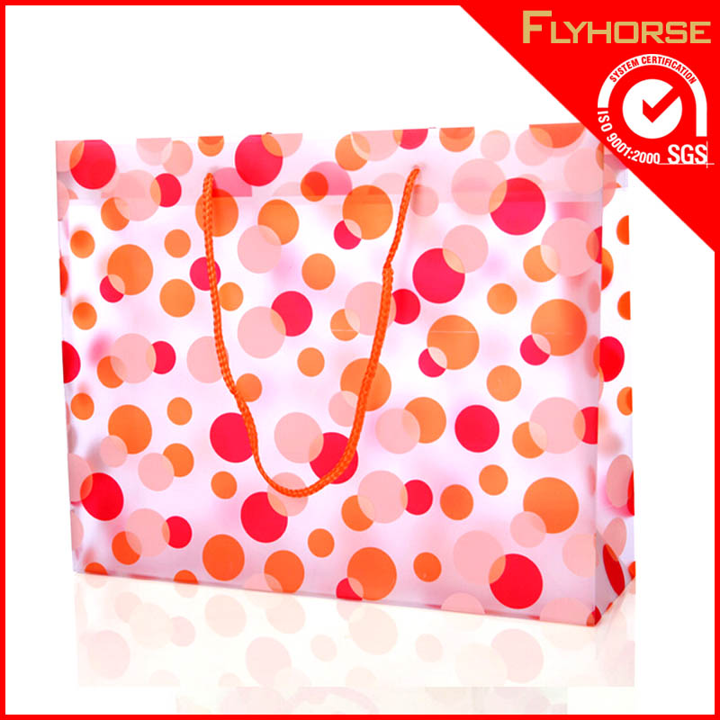 hot sell cheap printed pvc bag