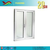 YH Wholesale good quality plant designed sound insulation residential aluminum double entry doors
