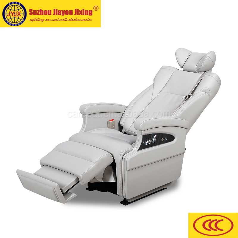 VAN conversion seat Luxury Single electric auto seat with adjustable headrest,reclinerv JYJX-029