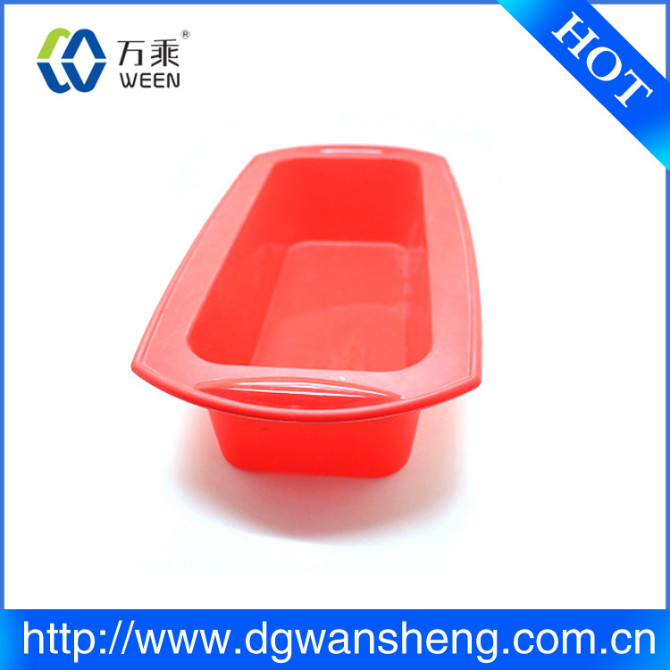 silicone cake loaf pan/non stick loaf pan