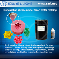RTV-2 liquid silicone rubber molding material for stone veneer molds,urethane mold stone