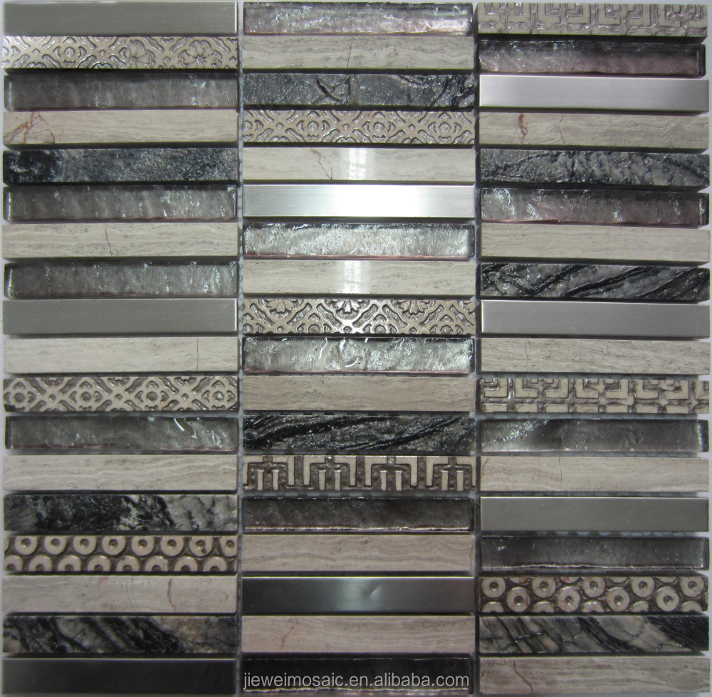 Chinese Exporter glass pumice stone natural mosaic