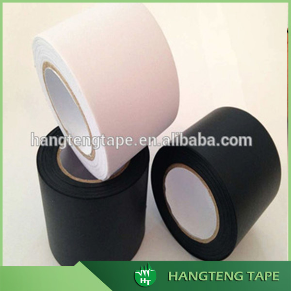 Highest quality heat resistant customzied logo pvc air conditioner tape