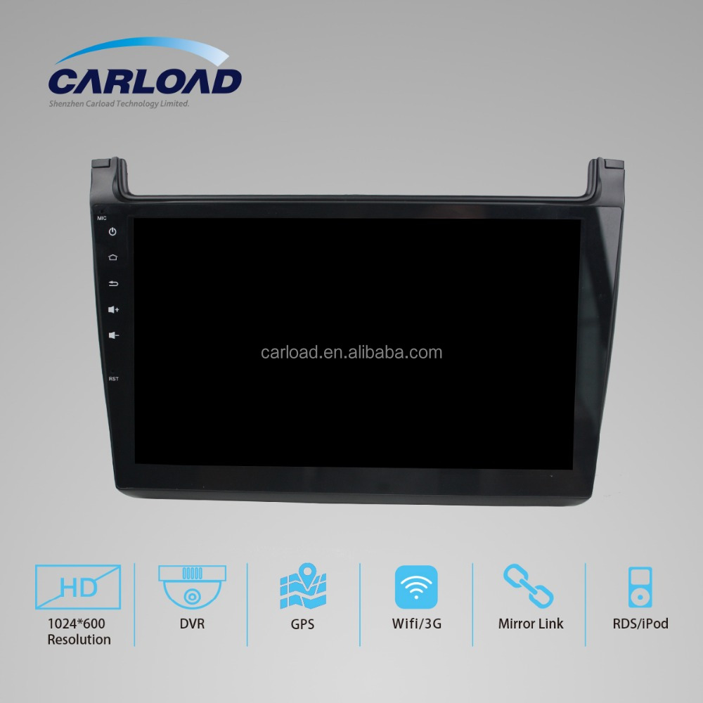 10.1 VW car dvd with gps for Android 5.1.1 2 din VW Polo