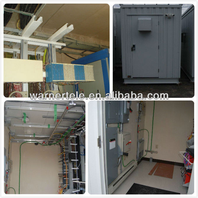 WTEL-mobile PU Outdoor Telecom integrated Equipment Container Shelter China