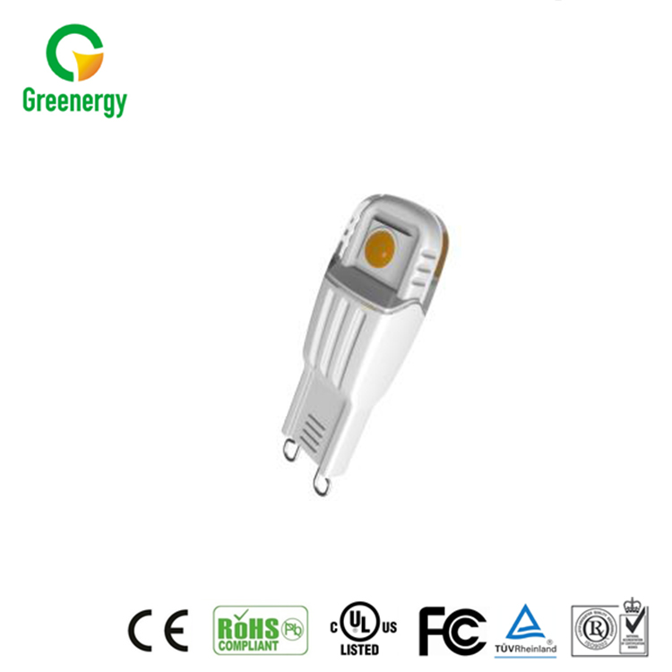 Hot selling CE approval products warm white rgb dimmable g9 led bulb