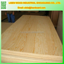 Slotted Radiata Pine Plywood For Funiture, pinus sylvestris Pine Plywood