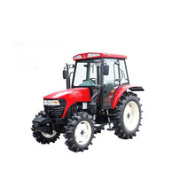 Since 1995 Gold Dafeng 4WD wheeled tractor machine agricultural machinery
