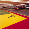ColourPlus Paint Coloured Coating System for Car Parks & Roads