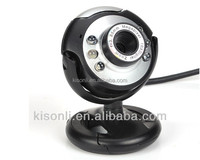 Hot USB 6 LED PC Webcam Camera Night Vision support MSN, ICQ, AIM, Skype, Net Meeting