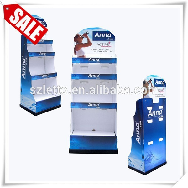 Professional cardboard display stand for watch corrugated vape mod display stand