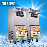 Chinese SS soft serve ice cream machine 115 volt counter top