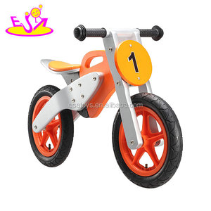 2018 Wholesale cheap classic wooden bikes for kids W16C199