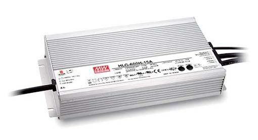 Meanwell HLG-600H Series 600W Single Output Switching Power Supply HLG-600H-36 36V HLG-600H-36A HLG-600H-36B