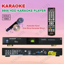 Porfessional karaoke machine with HDMI ,Support VOB/DAT/AVI/MPG/CDG/MP3+G songs ,songs encryption
