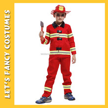PGCC-2375 Little Boys' Fireman Costume firefighter Costume Fire Fighter Children's Costume