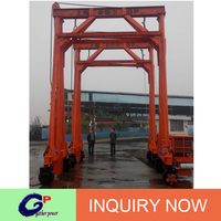 Low Lifting gantry crane price container used in low door height