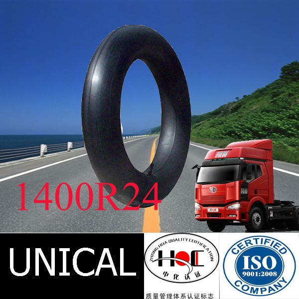 High quality1200R24 Bias butyl rubber inner tube