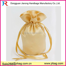 polyester satin wedding ring pouch