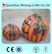 halloween decoration craft resin pumpkins for sale