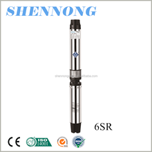 6 inch high pressure agricultural irrigation head 100 meter deep well sea water pump 45m3/h to pump water