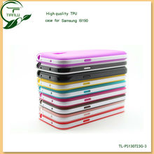 S line Soft TPU Gel Case for Samsung Galaxy S4 mini i9190,richly patterned,wholesale case cover