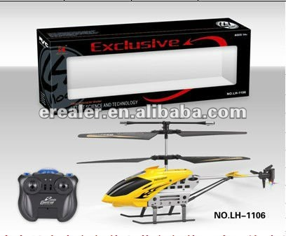 Fighting plane 4ch rc helicopter with 3 gyro
