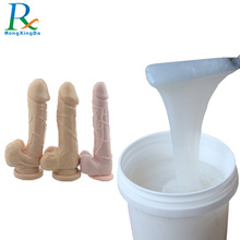 Two component RTV2 Raw Material Liquid Silicone Rubber For Artificial Penis, Artificial Vagina