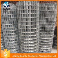 China manufacture welded wire meshes/weight of concrete reinforce wire mesh welded mesh