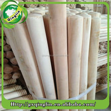 eco-friendly lacquer wooden broom pole with good quality