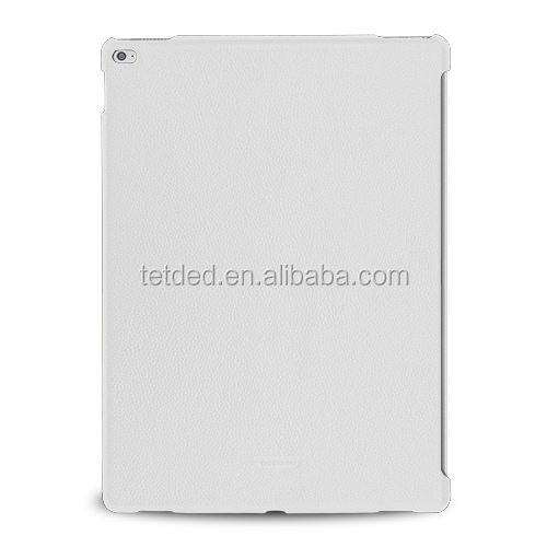 TETDED Premium Leather Case for Apple iPad Pro -- CaenA (LC: White) for Keyboard Connector