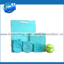 Eco-friendly golf ball velvet pouch with drawstring