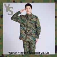 [Wuhan YinSong] German Camouflage Army Clothing Fabric Jungle Military Uniforms