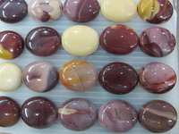 Loose Beads and Cabochons-Mookiate 15*20mm oval cabochon for jewellery making-semi precious stones