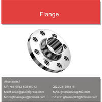 Hot sale custom standard welding neck flange with ISO9001, ISO14001,OHSAS18001